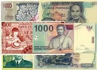 Bentuk Uang Rp1000 dari Tahun 1952-2009