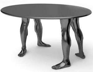 meja manusia