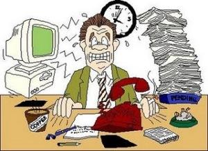 Terlalu sibuk dengan pekerjaan